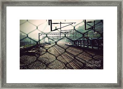 Railway Station Framed Print
