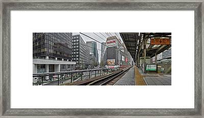 Railway Station, Yurakucho Station Framed Print