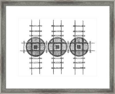 Railway Turntables Framed Print