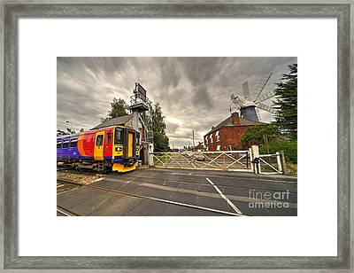 Railway Windmill  Framed Print