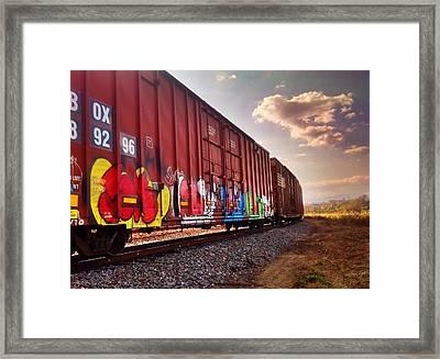 Railways Framed Print
