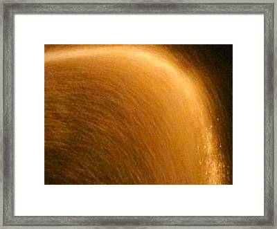 Rain Arch Framed Print by Chasity Johnson
