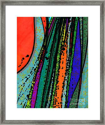 Rain At My Window Framed Print