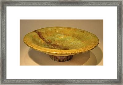 Rain Bowl Framed Print