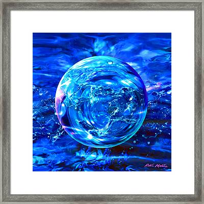 Rain Dance  Framed Print by Robin Moline