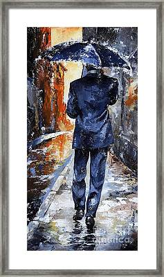 Rain Day #20 Framed Print by Emerico Imre Toth