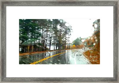 Rain Day Framed Print
