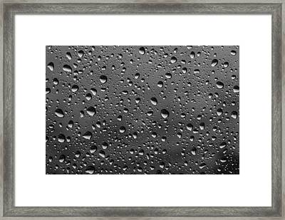 Framed Print featuring the photograph Rain Drops.... by Photography  By Sai