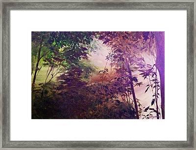 Rain Forest Rhapsody #1 Framed Print