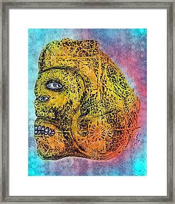 Rain God Framed Print by Dennis Stahl