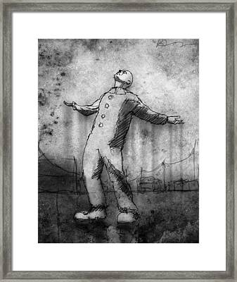 Rain Framed Print by H James Hoff