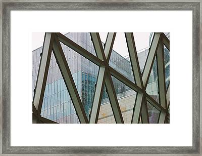 Rain In The City Framed Print by Pati Photography