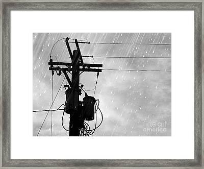 Rain Framed Print by Jennifer Kimberly