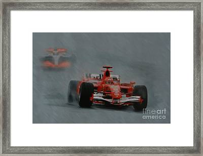 Rain Master Framed Print by Roger Lighterness