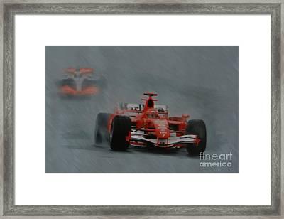 Rain Master Framed Print