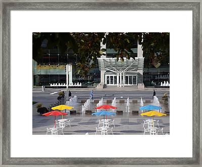 Rain Or Shine Framed Print