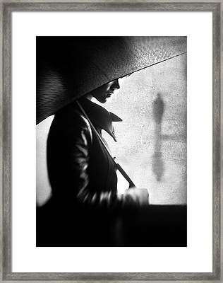 Rain Please Tell Him... Framed Print