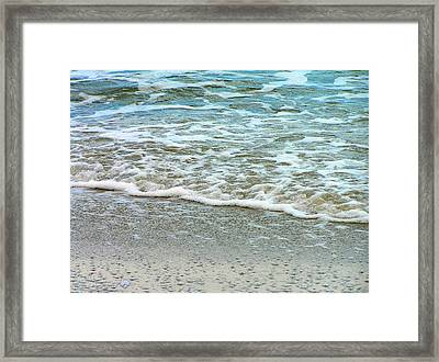 Rain Sea  Framed Print by Oleg Zavarzin