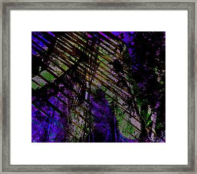 Framed Print featuring the digital art Rain Shadow by Aurora Levins Morales