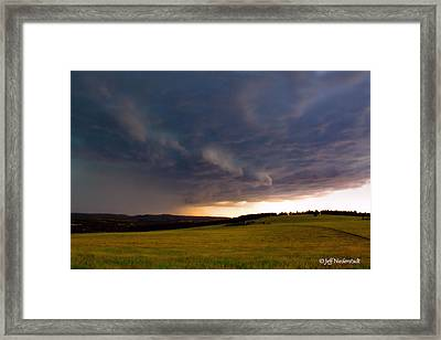 Rain Shelf Framed Print