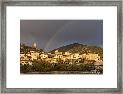 Rainbow 1 Framed Print by Iksung N