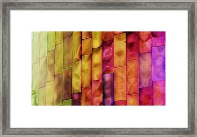 Rainbow Framed Print by A K Dayton