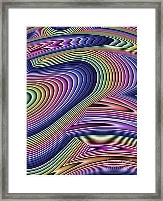 Rainbow Abstract Framed Print