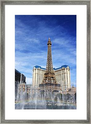 Rainbow At Paris Framed Print by Ivete Basso Photography