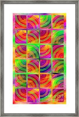 Rainbow Bliss 3 - Over The Rainbow V Framed Print