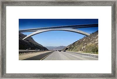 Rainbow Bridge - 02 Framed Print by Gregory Dyer