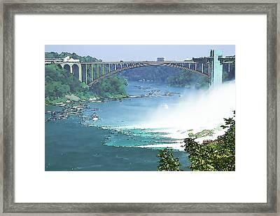Rainbow Bridge Framed Print