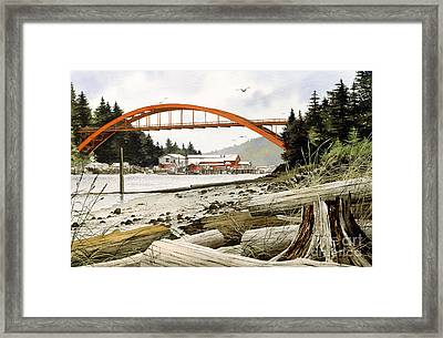 Rainbow Bridge Framed Print by James Williamson
