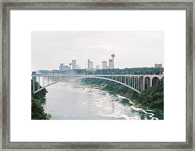 Rainbow Bridge Framed Print