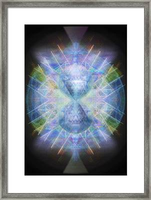 Rainbow Chalice Cell Isphere Matrix Framed Print