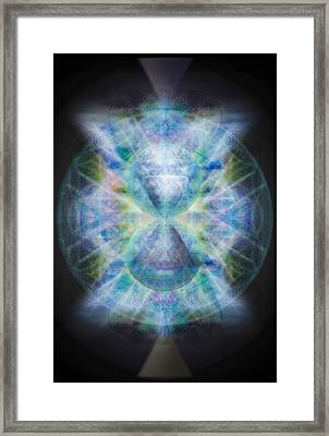 Rainbow Chalice Cell Isphere Matrix II Framed Print