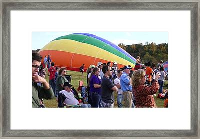Rainbow Colors Framed Print by Lee Hartsell