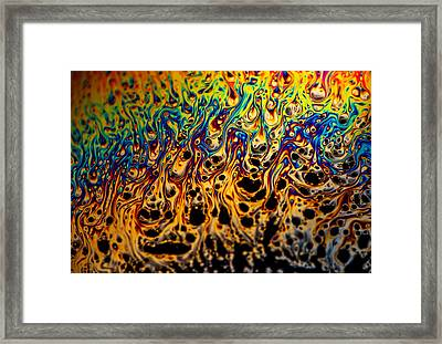Rainbow Distortion 1 Framed Print