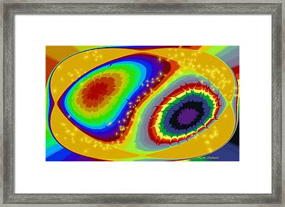 Rainbow Dreamin Framed Print by Naomi Richmond