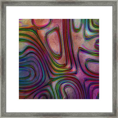Rainbow Drops 12 Framed Print by Jack Zulli