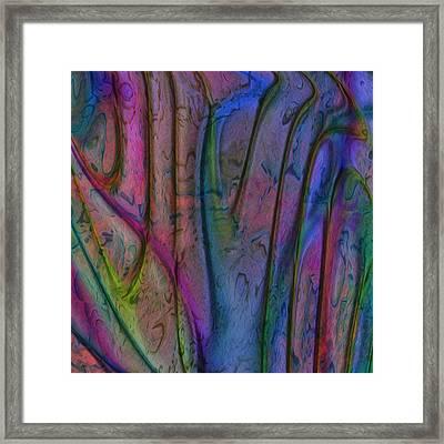 Rainbow Drops 7 Framed Print by Jack Zulli