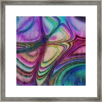 Rainbow Drops IIi Framed Print by Jack Zulli