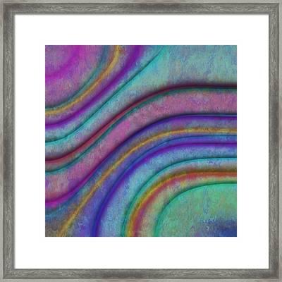 Rainbow Drops 5 Framed Print by Jack Zulli
