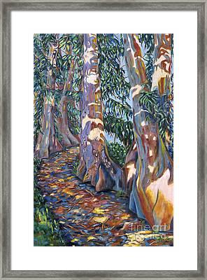 Rainbow Eucalyptus Framed Print
