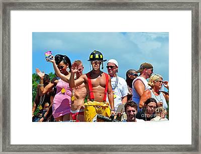 Rainbow Family  Framed Print by Davids Digits