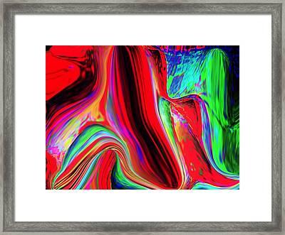 Rainbow Framed Print by HollyWood Creation By linda zanini