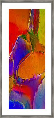 Rainbow In A Bottle Framed Print by Omaste Witkowski