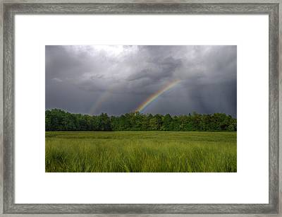 Rainbow Framed Print by Ivan Slosar