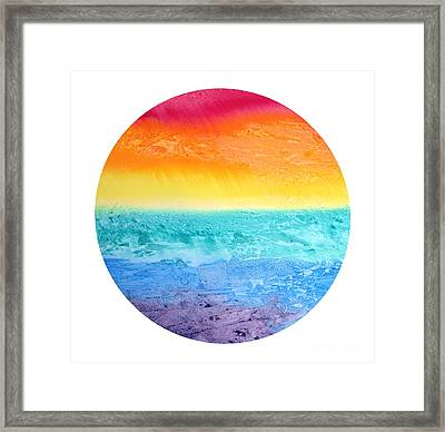 Rainbow Landscape  Framed Print by Susan  Dimitrakopoulos
