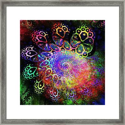Rainbow Leopard Framed Print by Anastasiya Malakhova