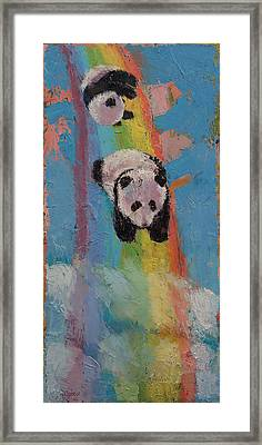 Rainbow Framed Print by Michael Creese
